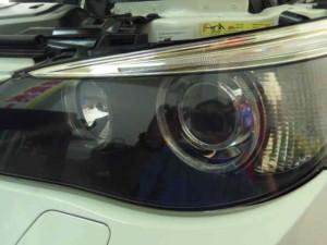 bmw450i ヘッドライトリフレッシュ
