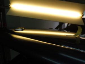 GT-R アルミボンネット デントリペア