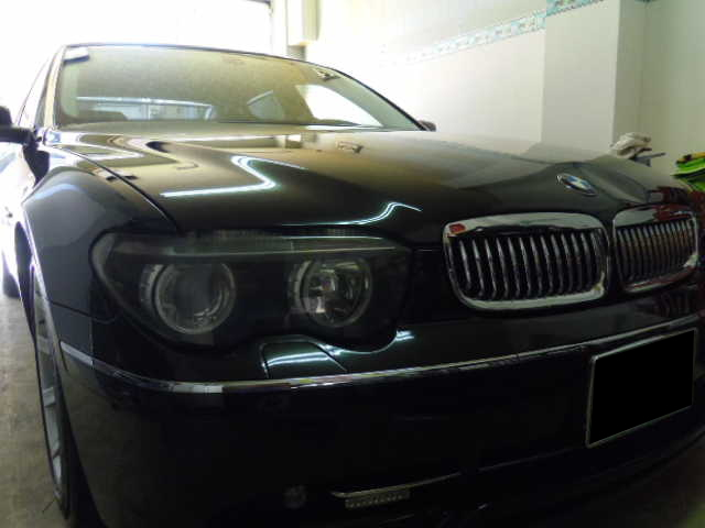 BMW760Li デントリペア