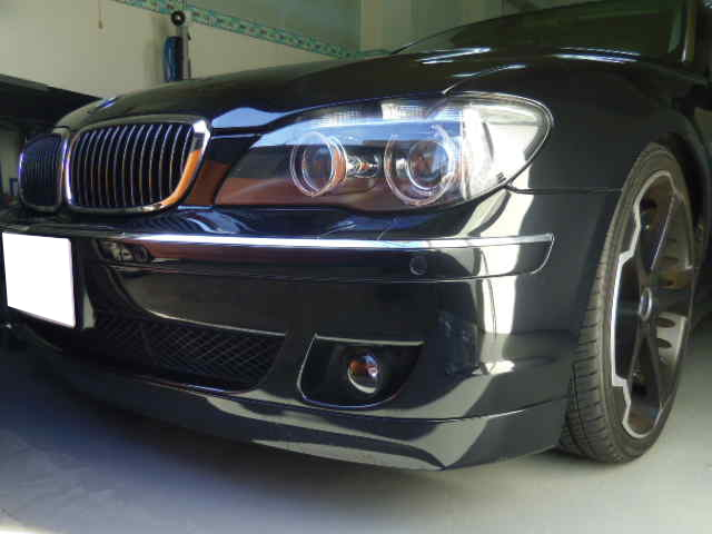 BMW750Li デントリペア修理
