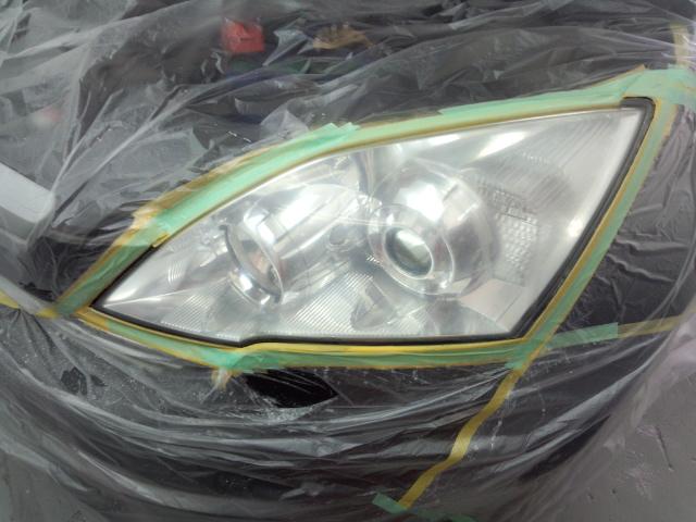 ホンダCR-V ヘッドライトコーティング
