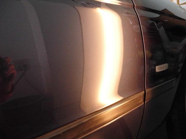 BMW540i ドアのヘコミ修理後
