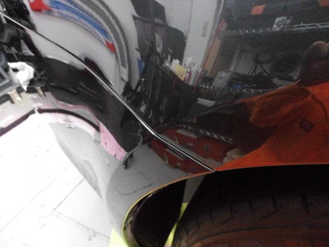 レクサスIS250 デントリペア修理後