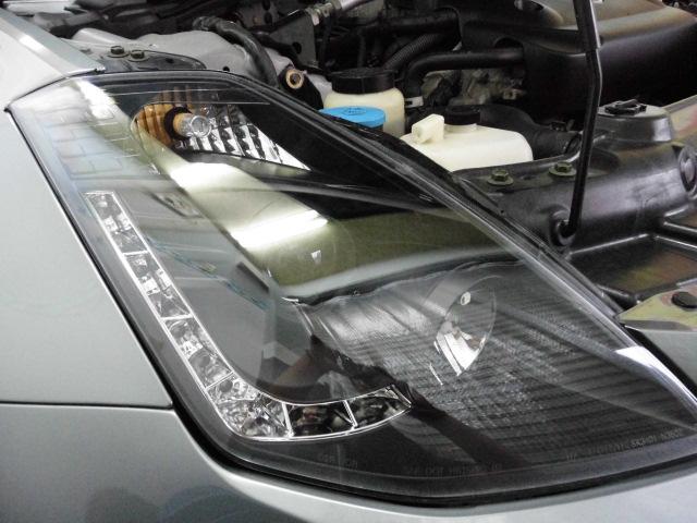 Z33ヘッドライトコーティング