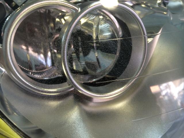 BMW MINI ヘッドライトコーティング