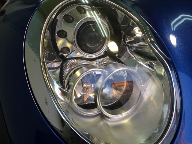 BMWヘッドライトコート