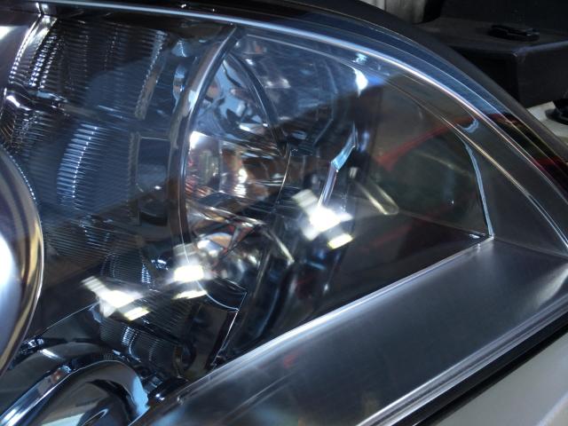 インプレッサ ヘッドライト磨き