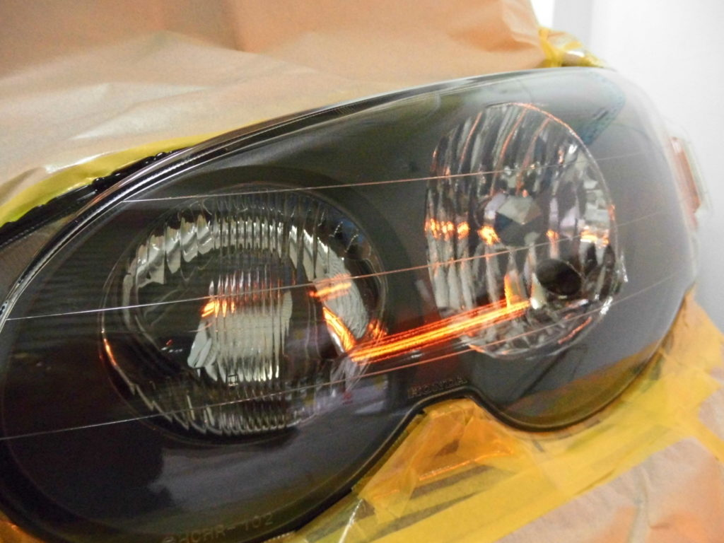 HR-V ヘッドライトコーティング