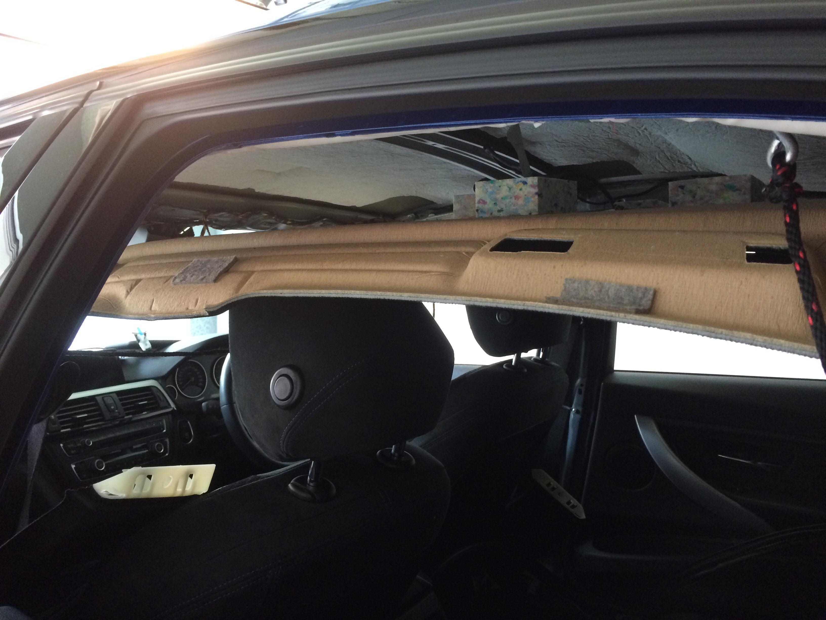 BMW M3 ルーフのデントリペア