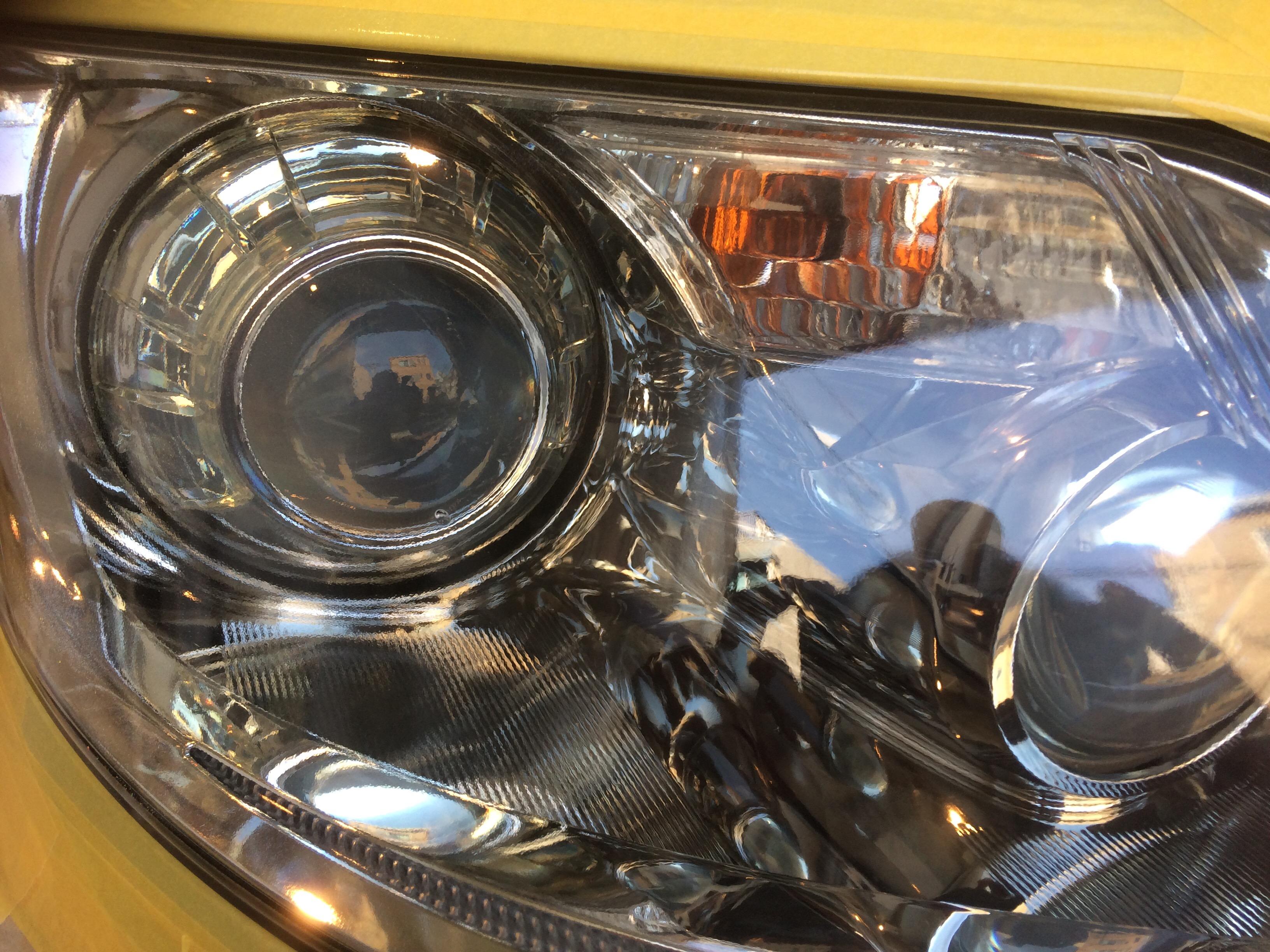 LS460 ヘッドライトリフォーム