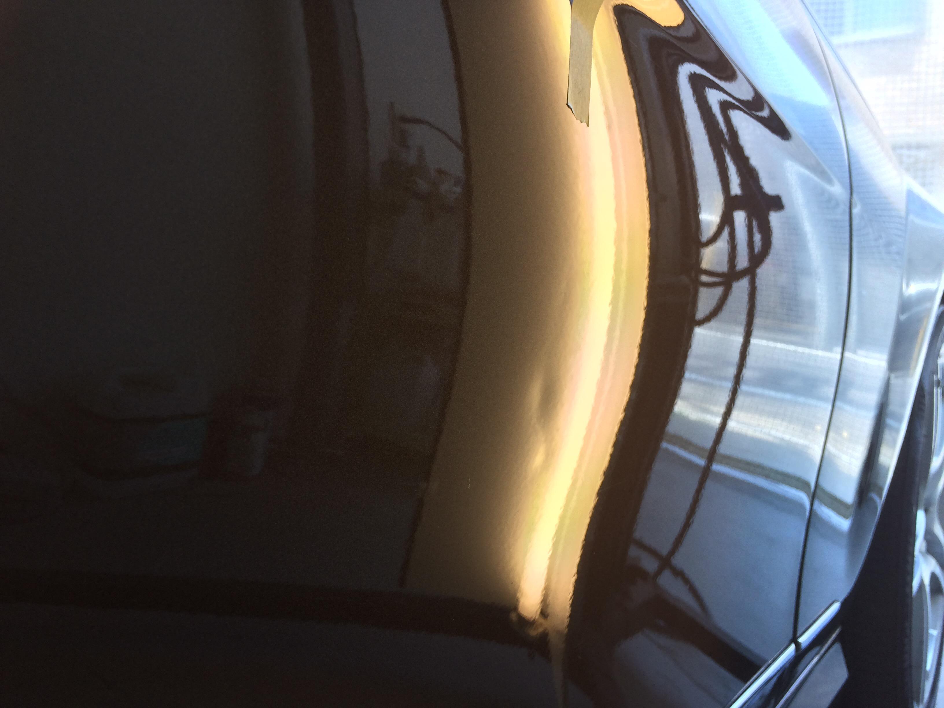 C180 ドアのヘコミ修理