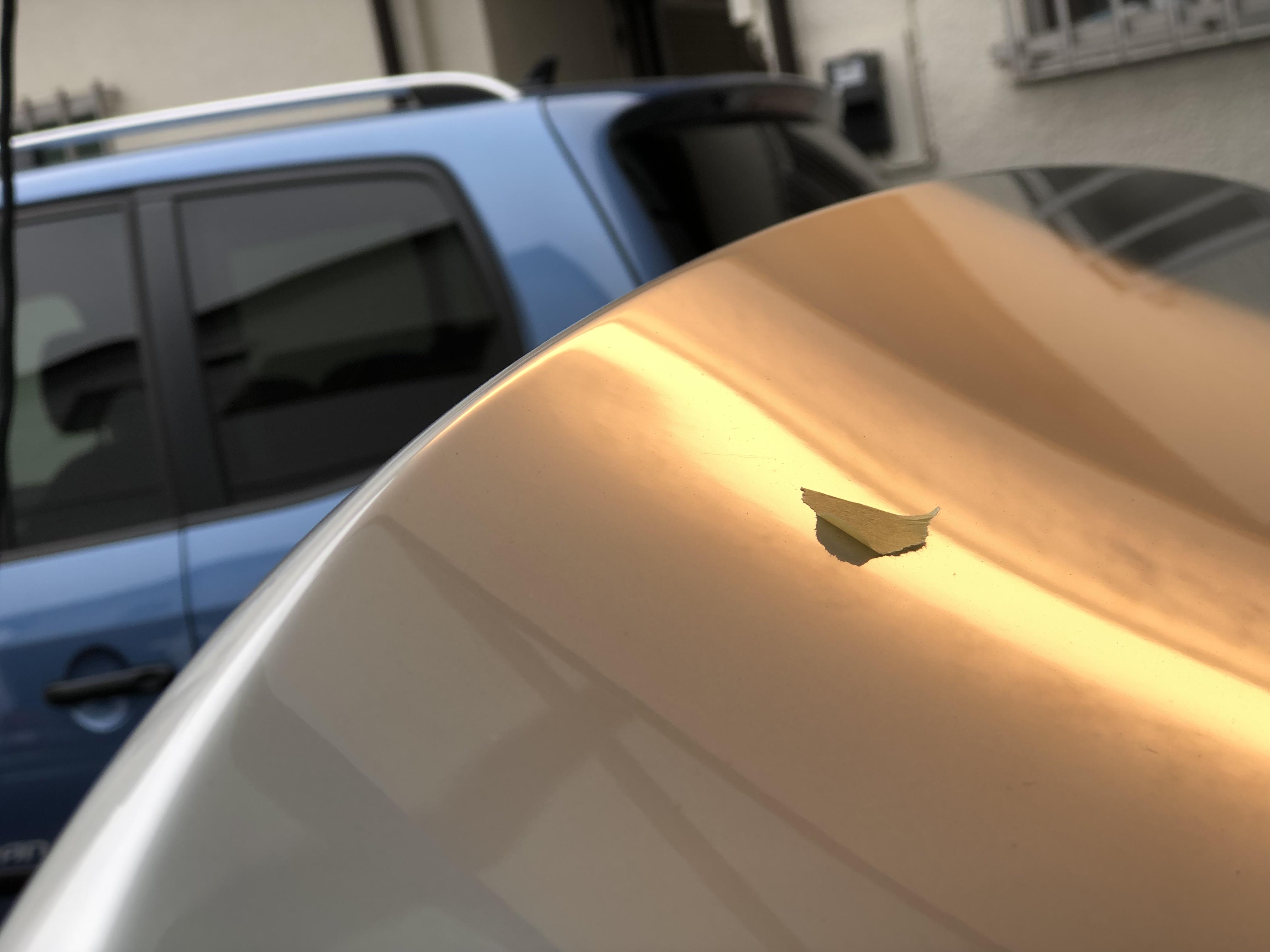 トランクの凹み修理