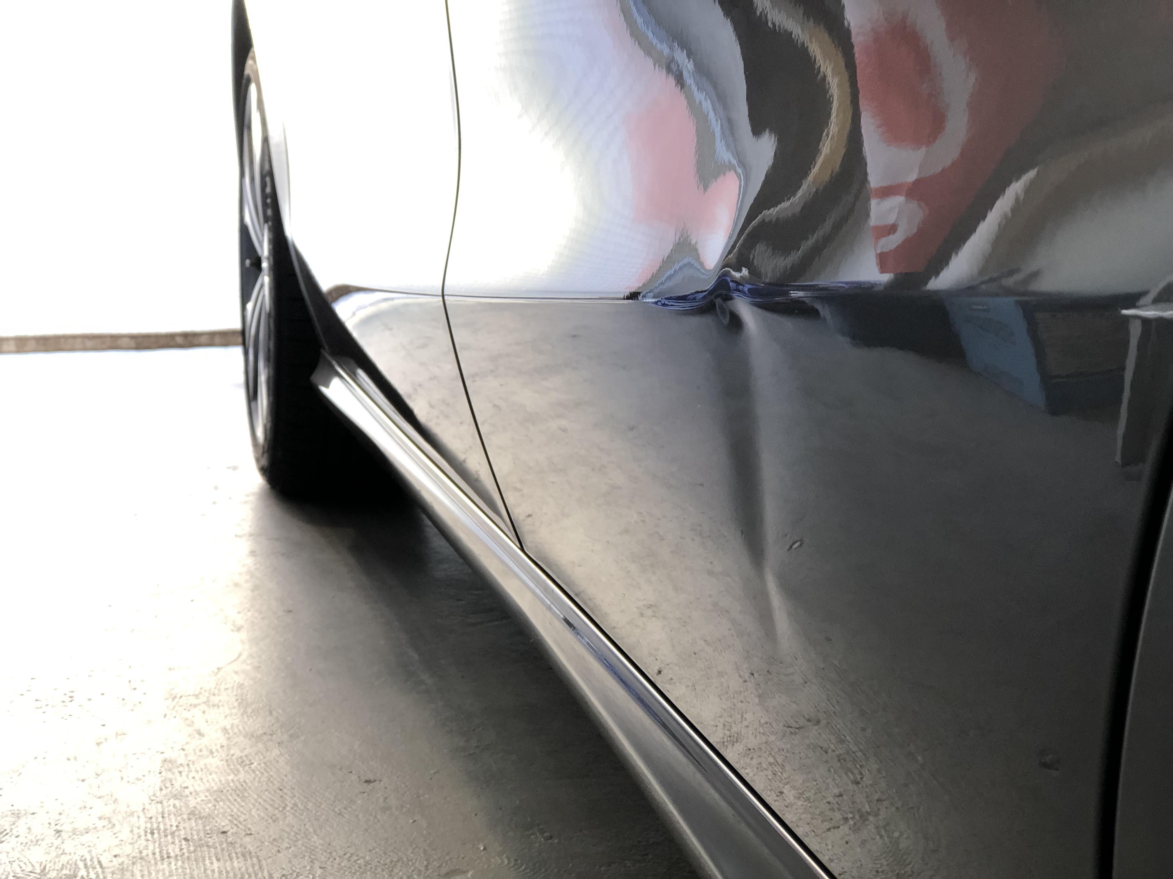 リヤドアの凹み修理