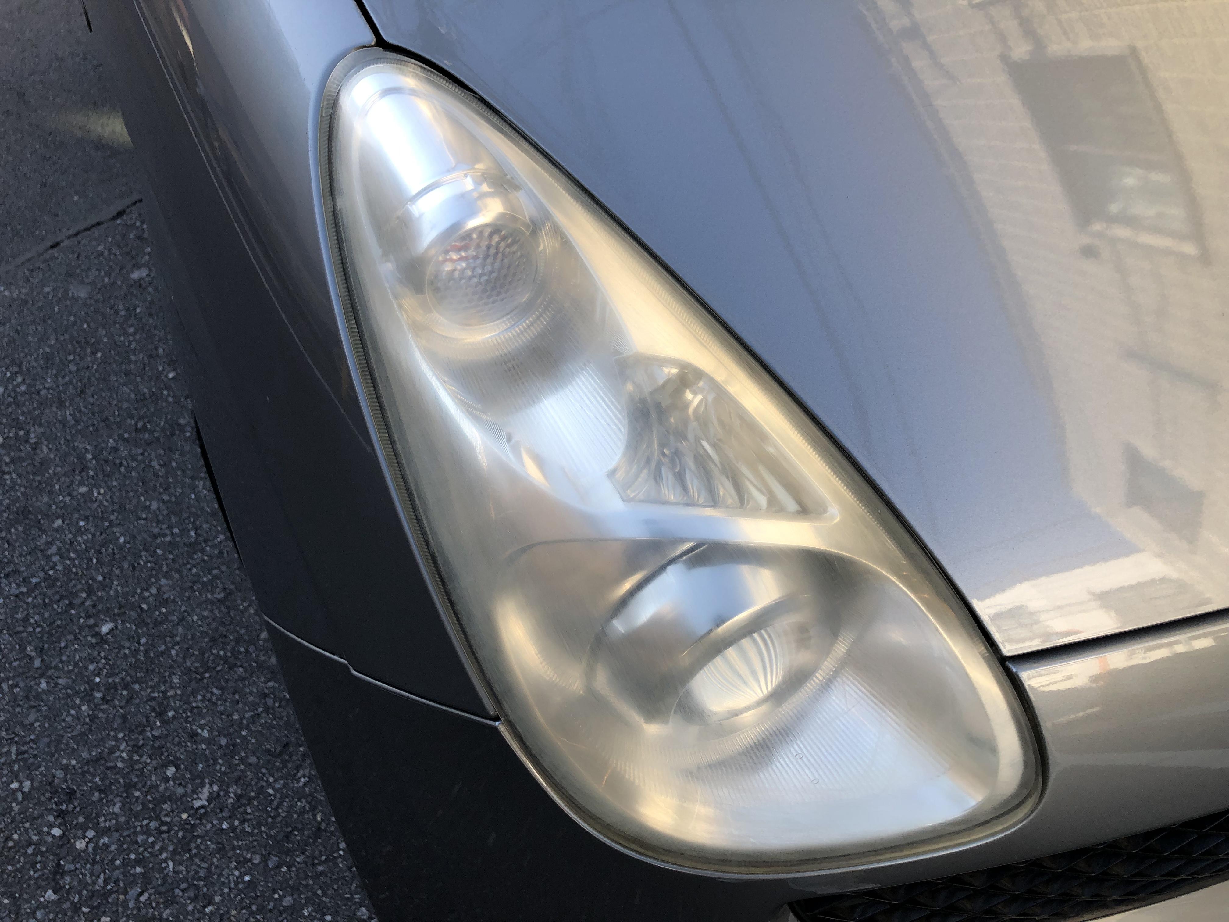 スバル R1 ヘッドライトコーティング