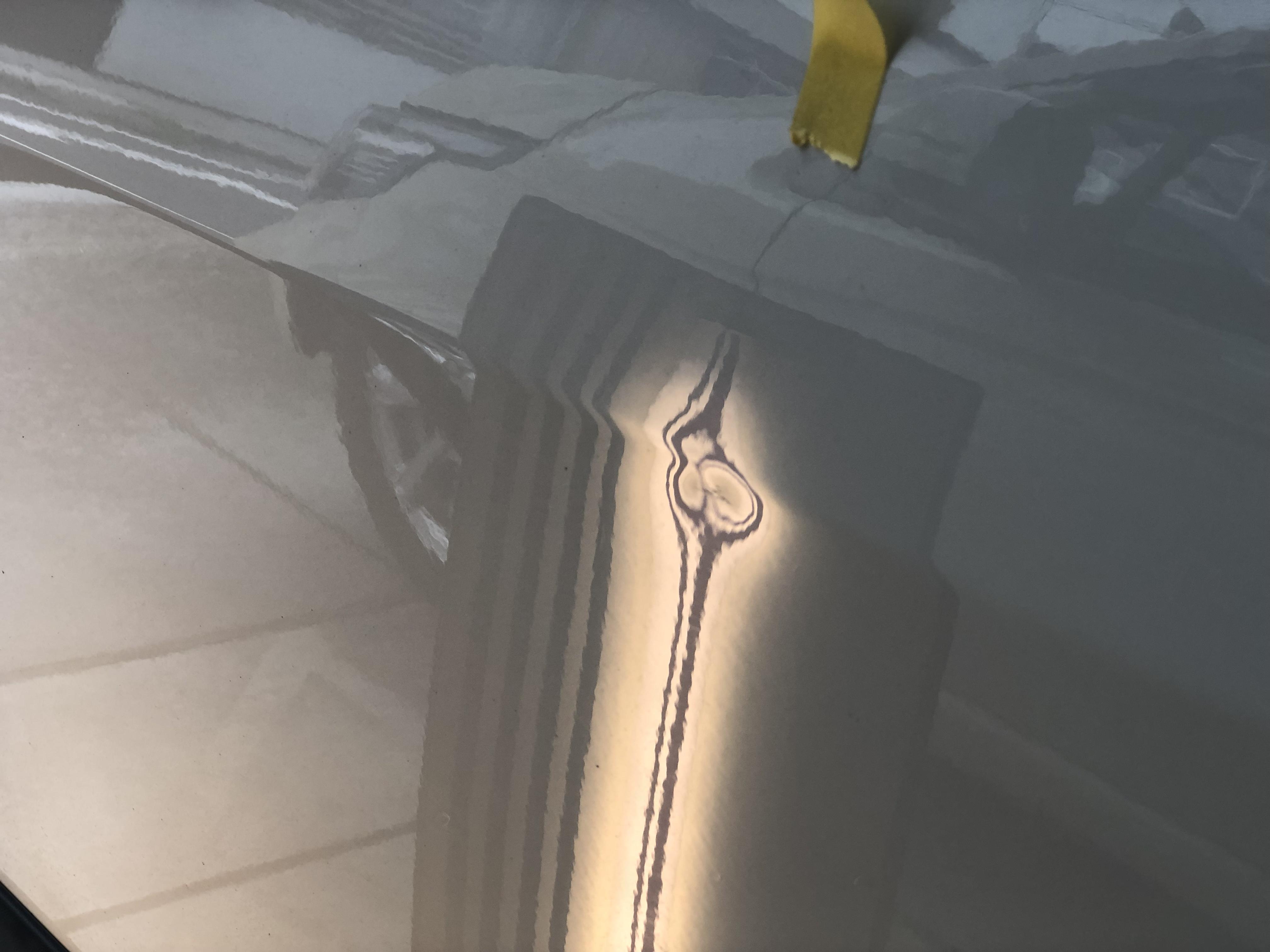 ドア プレスラインの凹み修理