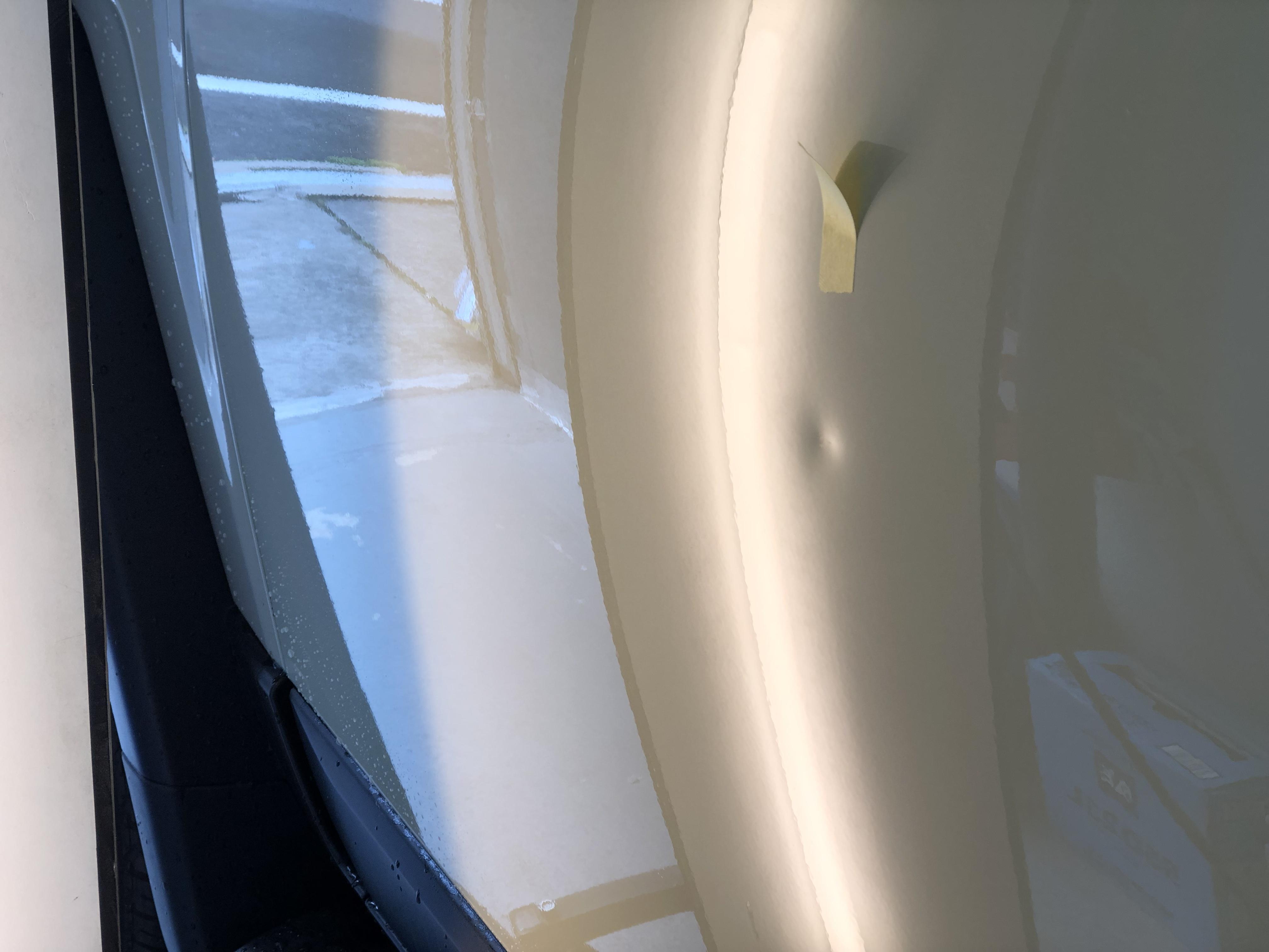 FJクルーザー ドアのヘコミ修理
