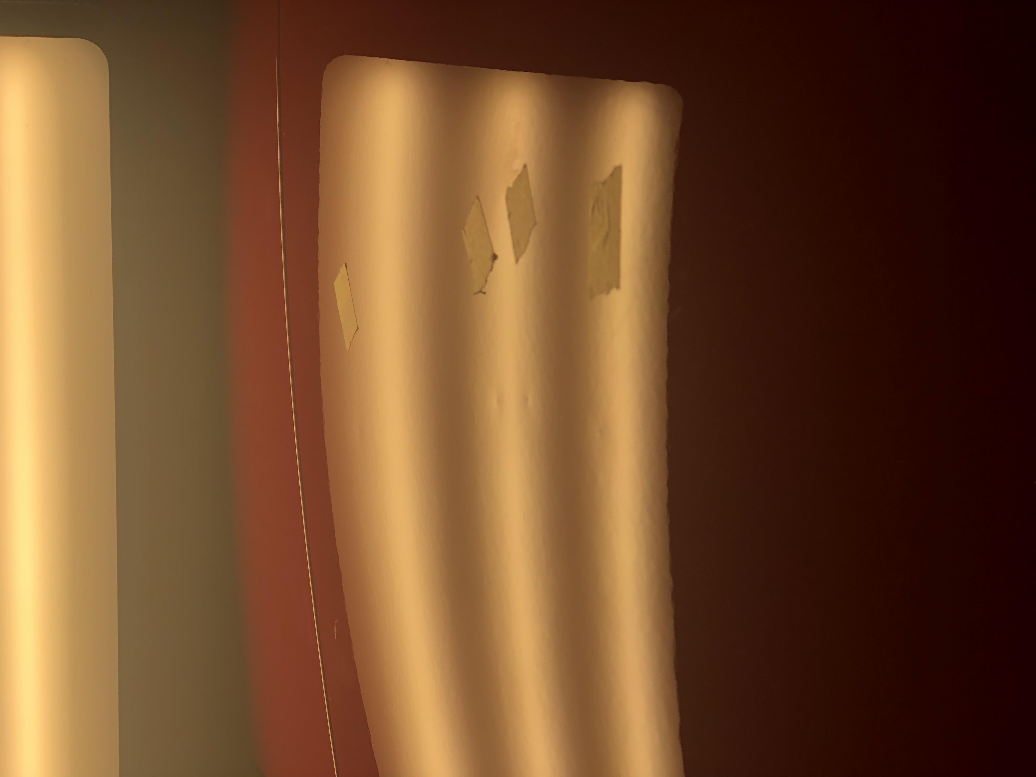 ミニクーパーS ドアパンチ凹み