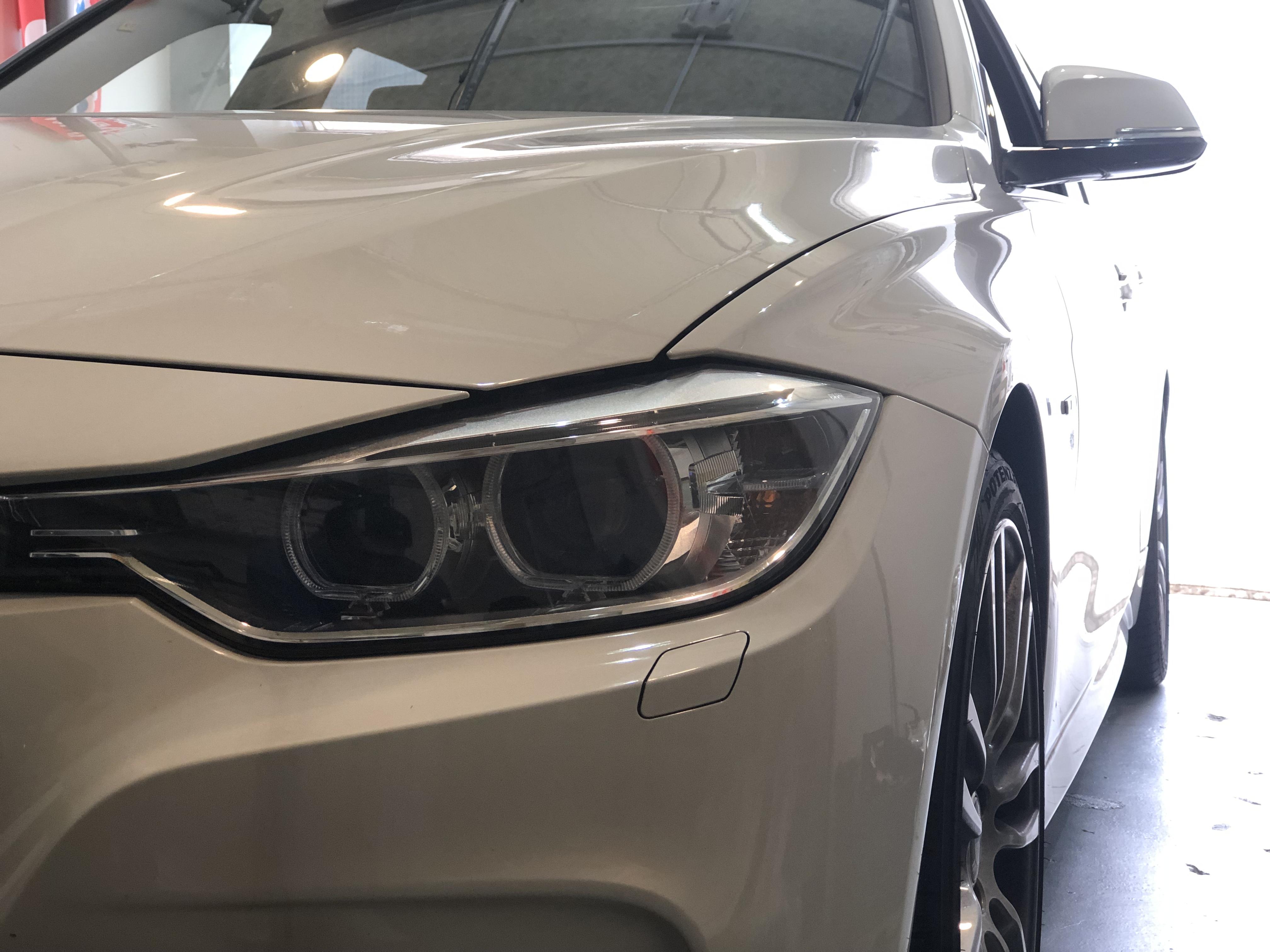 BMW320d ガラスリペア