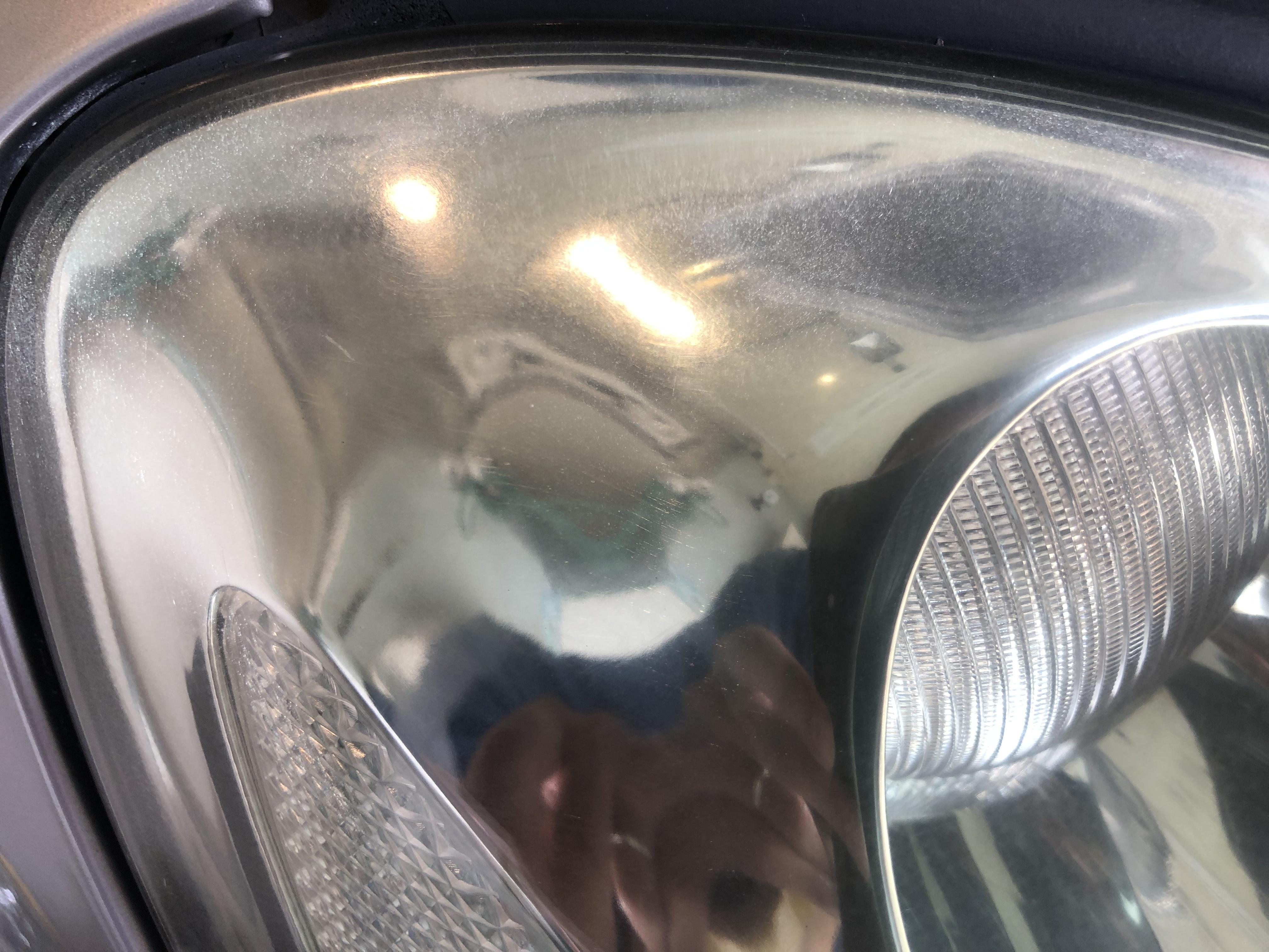 ソアラ ヘッドライトの細かいひび