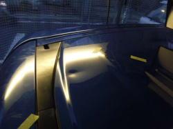 ホンダ ステップワゴン デントリペアによるへこみ修理前