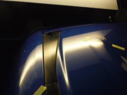 ホンダ ステップワゴン デントリペアによるへこみ修理後