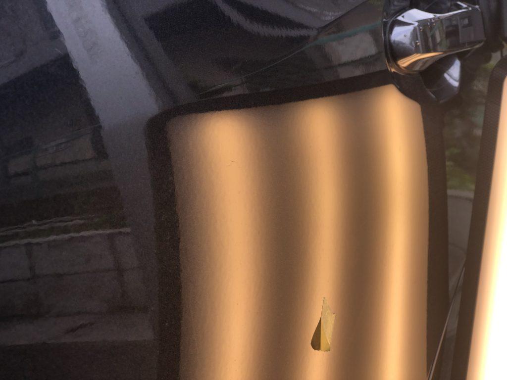 ドアパンチ凹み修理