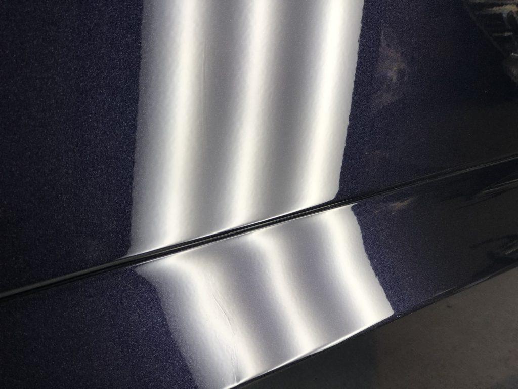 トヨタ ヴェルファイア スライドドアのデントリペア施工後