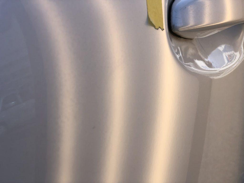 レクサス RX270 ドアのデントリペア施工後