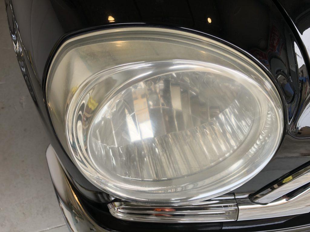 トヨタ オリジン ヘッドライトの黄ばみ