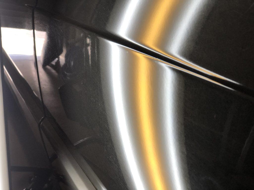ベンツW201 ドアパンチ修理