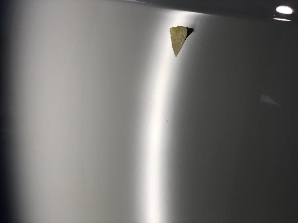 ベントレー コンチネンタルGT ドアのデントリペア施工後