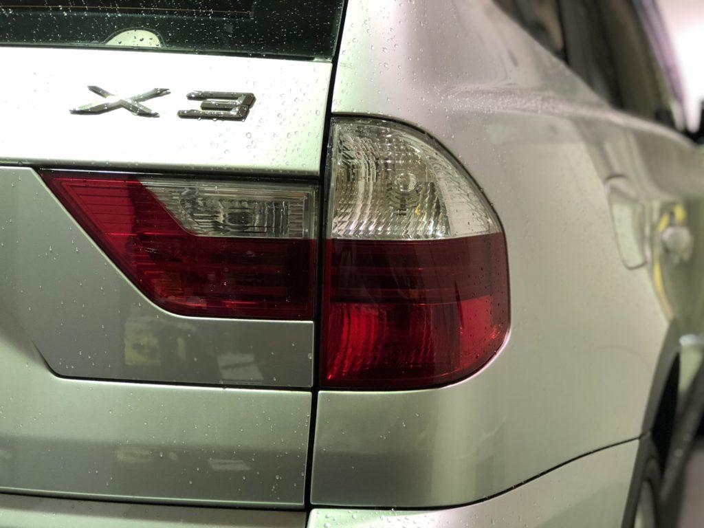 BMW X3 ヘッドライトコーティング