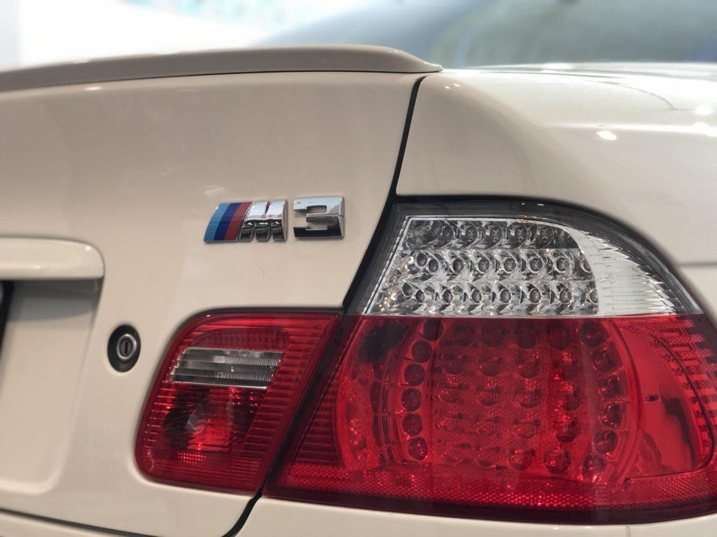 BMW M3(E46) デントリペア