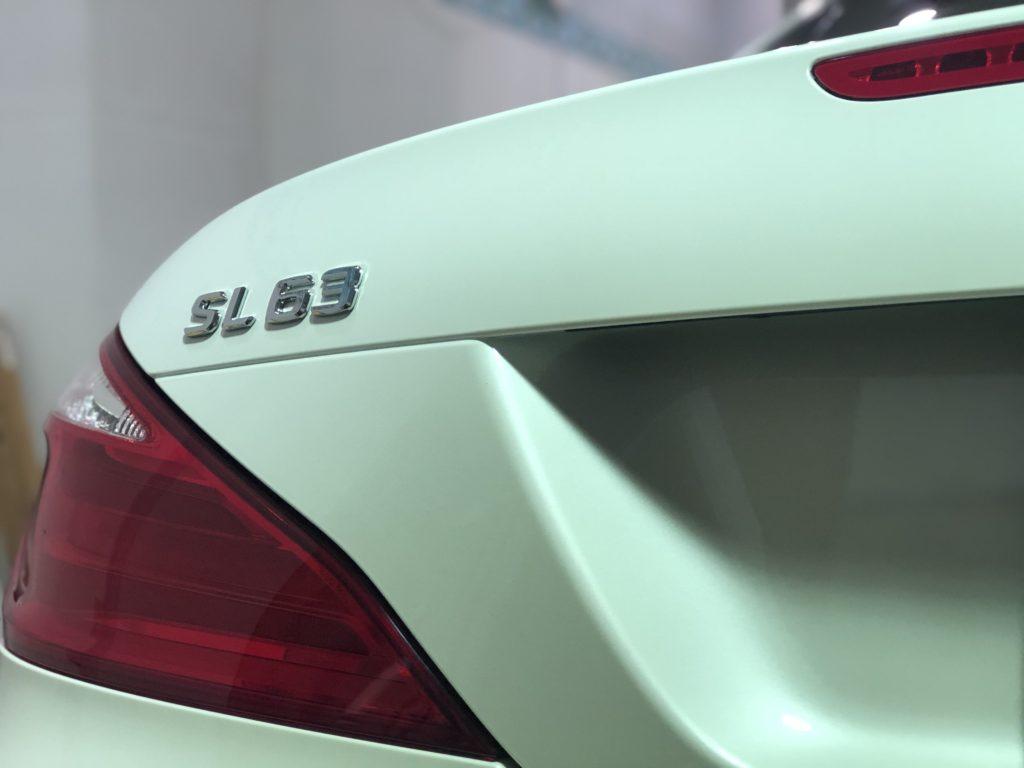 メルセデスベンツ AMG SL63  ヘッドライトリペア