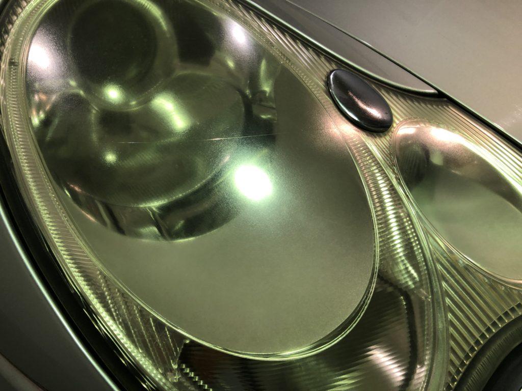 ポルシェ911 ヘッドライトの劣化