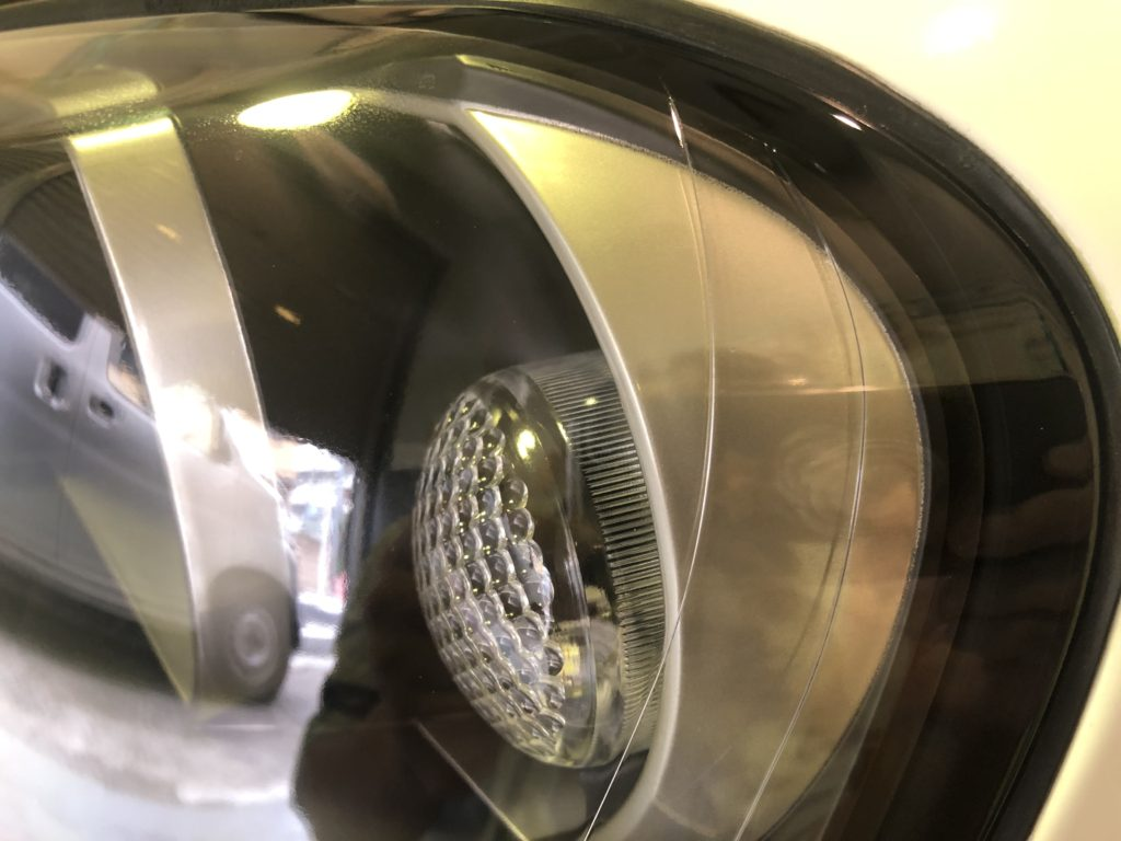GT-R34  ヘッドライトコーティング