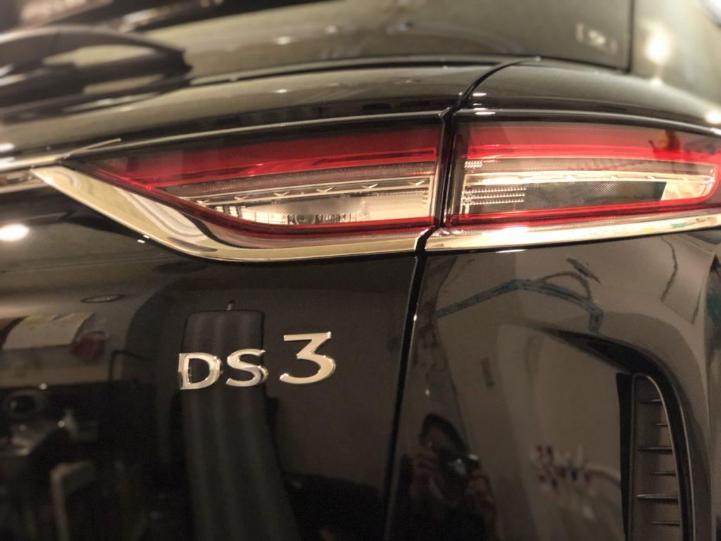 DS3 クロスバック デントリペア