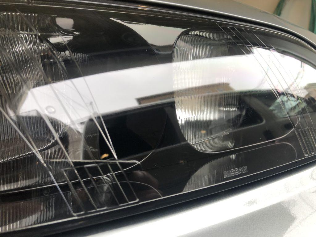 GT-R33   ヘッドライトの黄ばみ
