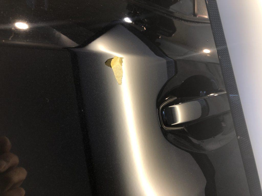 スバル WRX STI  ドアのデントリペア