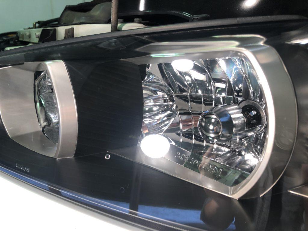 GT-R34  ヘッドライト磨き専門店