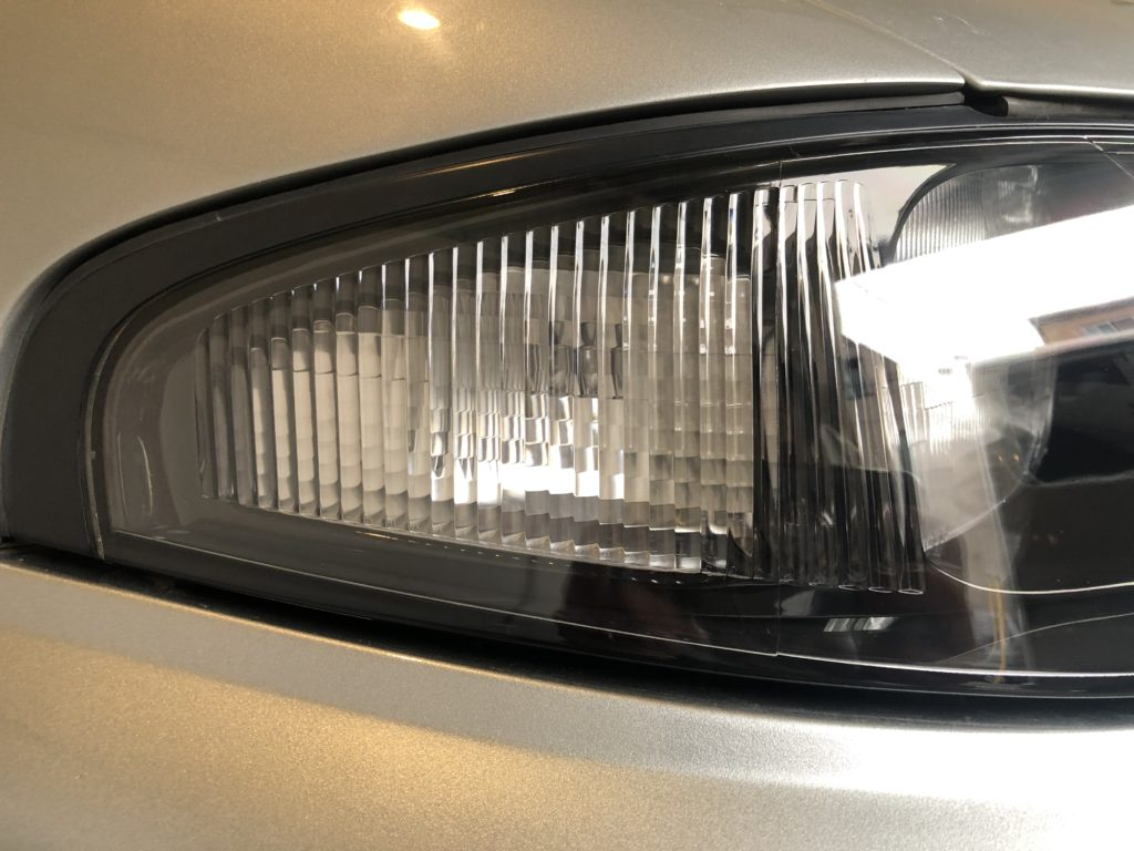 日産GT-R33   ヘッドライトコーティング