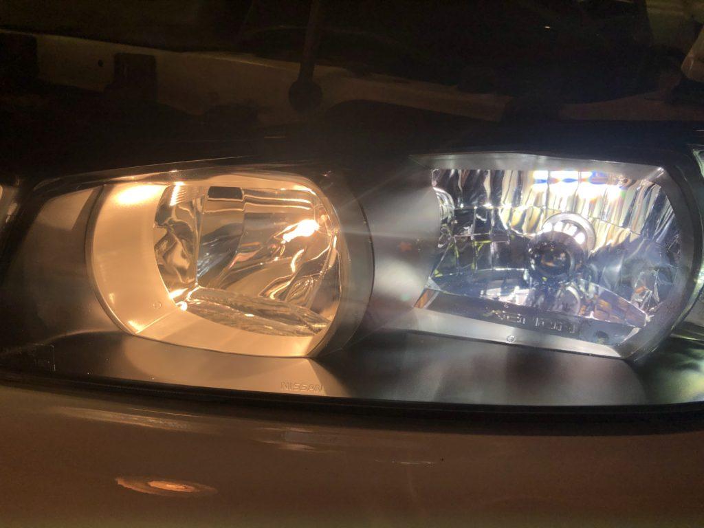 GT-R34  ヘッドライトクラック除去
