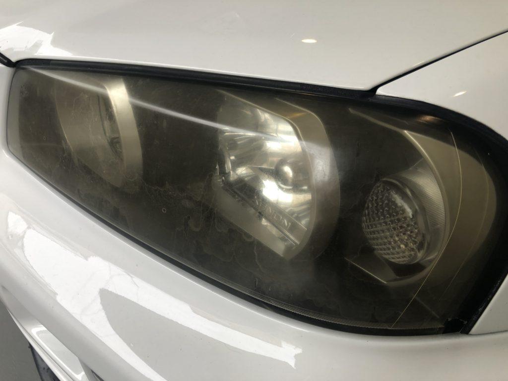 GTR34 ヘッドライトの黄ばみ