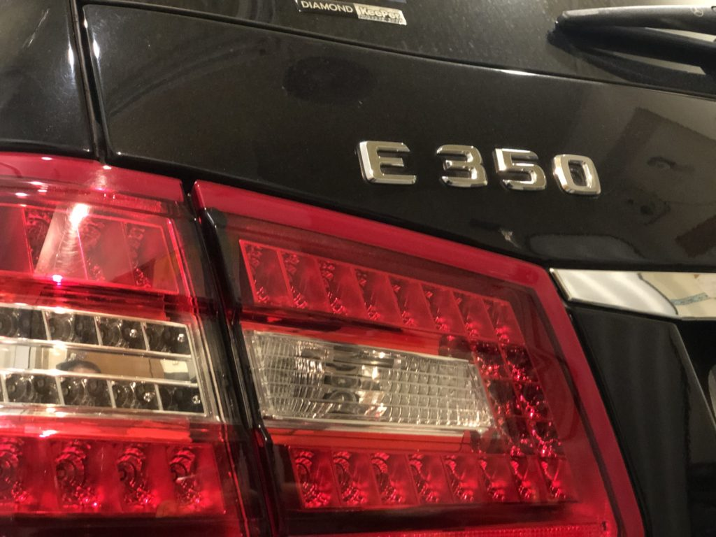 ベンツE350 デントリペア