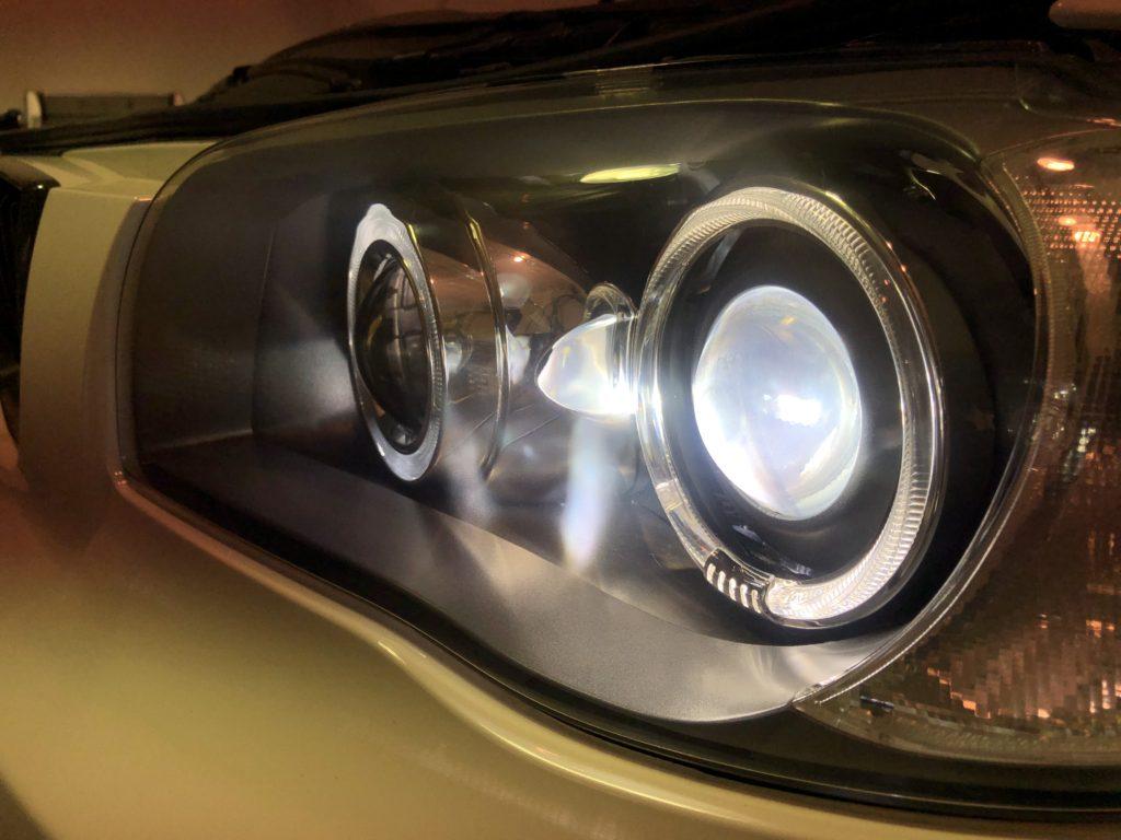 BMW1シリーズ ヘッドライトのひび・クラック除去