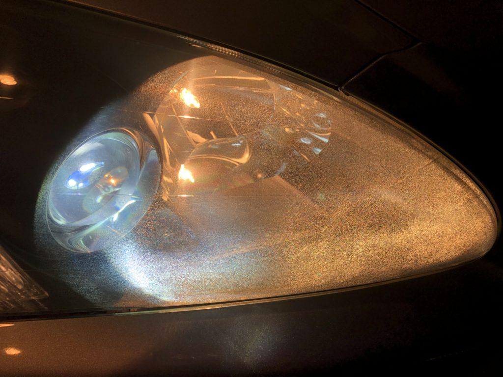 ホンダS2000 ヘッドライトクラック