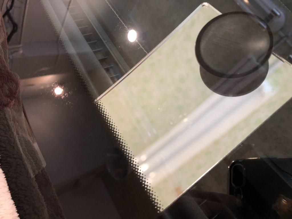 ベンツGLC250 ガラスの飛び石修理