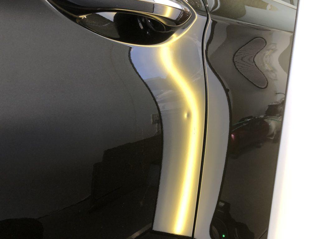 BMW5シリーズ ドアのデントリペア
