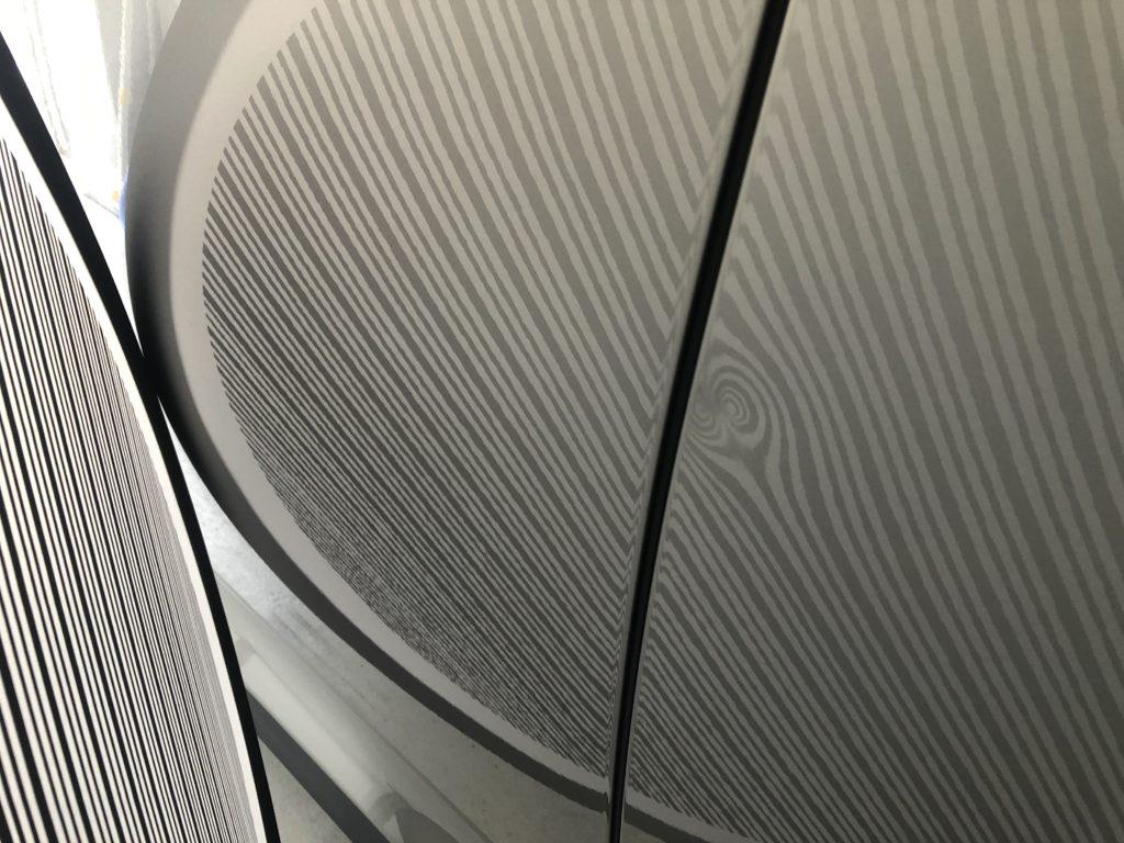 レクサスRX450h リヤドアの凹み修理