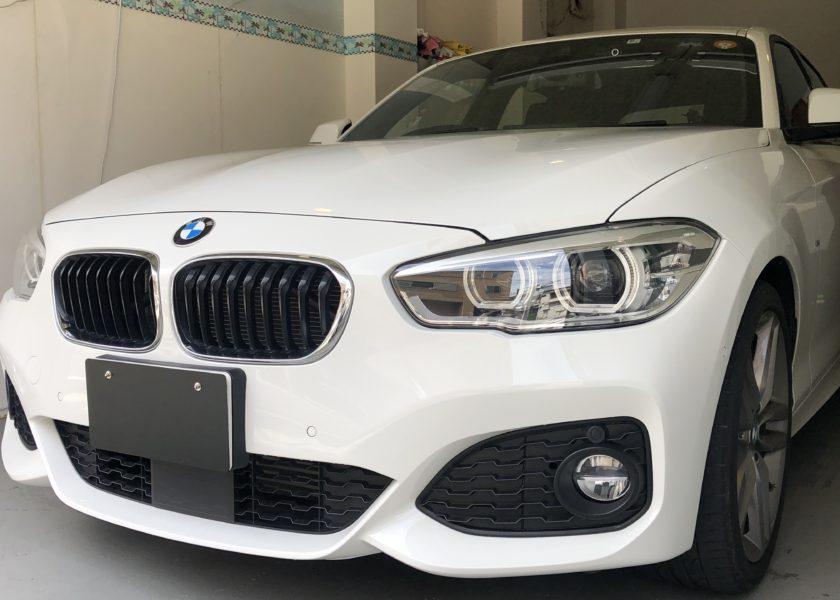 BMW1シリーズ デントリペア